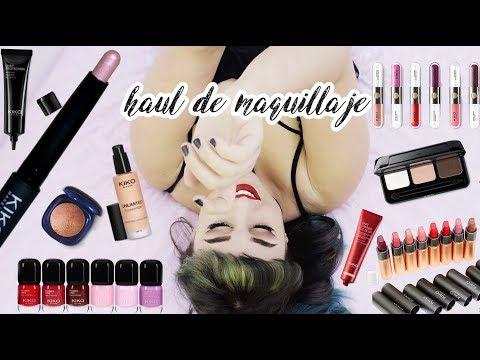 HAUL XL DE MAQUILLAJE | Kiko Cosmetics | Boo
