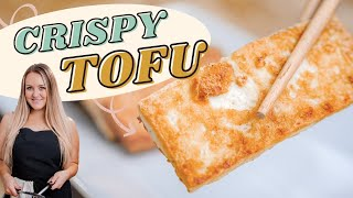How to Make CRISPY TOFU (Quick & Easy!)