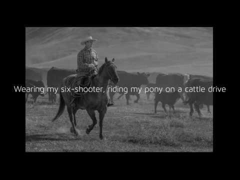 Should've Been A Cowboy - Toby Keith (Lyrics)