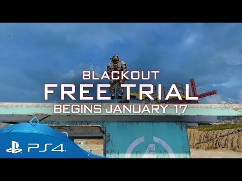 Call of Duty: Black Ops 4 | Blackout Free Trial Announcement | PS4