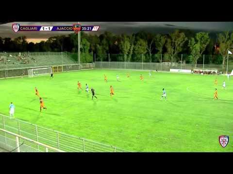 Cagliari vs Gazelec Ajaccio 01/08/2015 | Cagliari Calcio