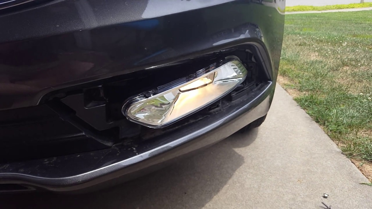How To Install Foglight On A 2017 Ford Fusion