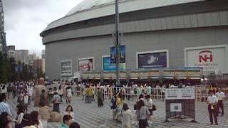 嵐のワクワク学校2014 ~友情が深まるドーム合宿~ 東京ドーム編 開演前...