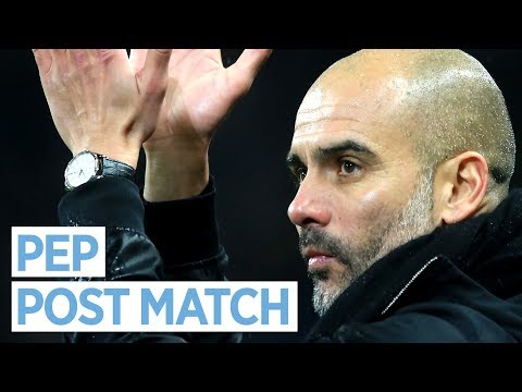 PEP GUARDIOLA | Postmatch Press Conference | City 3-1 Watford