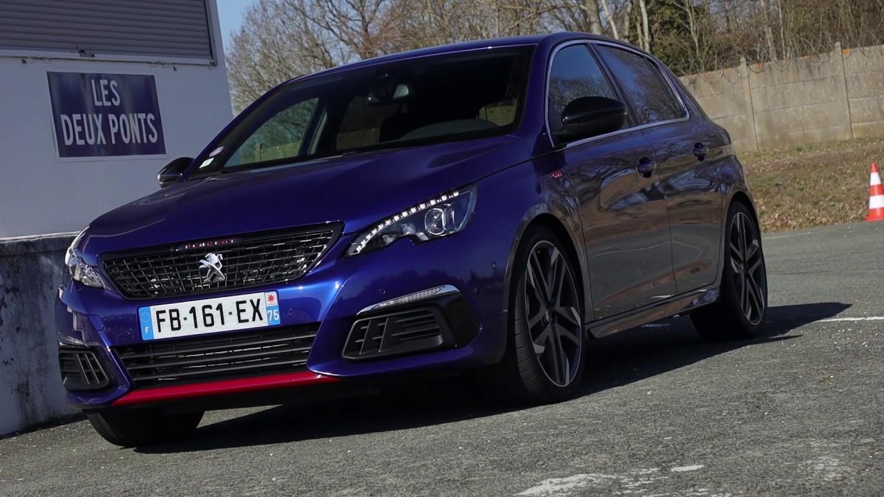 Essai Peugeot 308 1 6i 263ch Gti Youtube