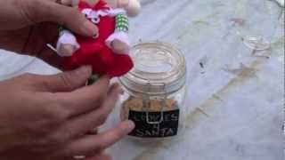 How To Make A Cookies For Santa Jar