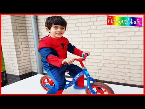 Learn English with Toys and Furniture for Children, Toddlers w/ Spiderman Fun Kids Play Activity
