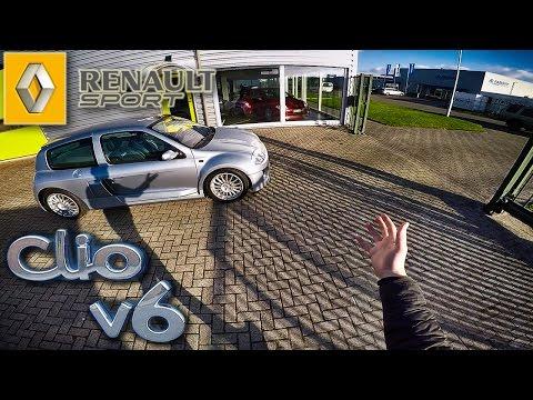 Renault Clio V6 Review POV Test Drive by AutoTopNL