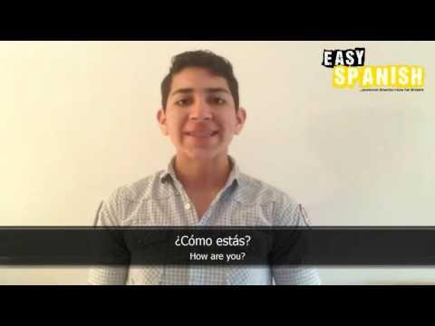 Tiếng Tây Ban Nha bài 1: Các câu thông dụng