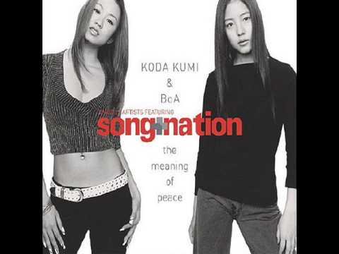 Koda Kumi & BoA - The Meaning Of Peace - Single Cover - Photo Analysis