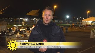 Ännu är inte Dante funnen - Nyhetsmorgon (TV4)