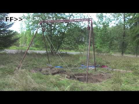 How to clean out a well by yourself