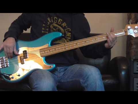 Iron Maiden - The Duellists Bass cover