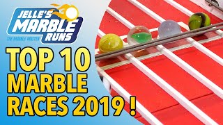 Top 10 Marble Races 2019 - Jelle's Marble Runs