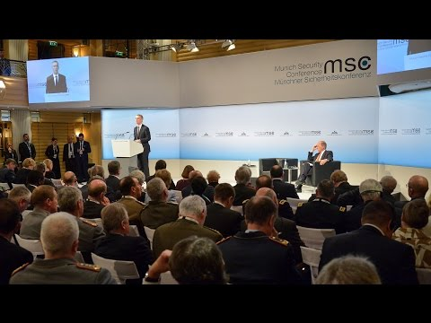 NATO Secretary General speech at Munich Security Conference 1/2, 18 FEB 2017