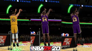 Can Kobe Bryant and LeBron James Beat Stephen Curry in a 3 Point Contest? NBA 2K20