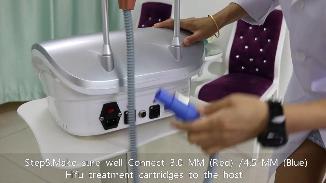 Vmax Hifu machine Installation Video 1