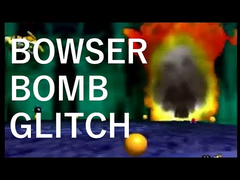 Super Mario 64 - Bowser Bomb Glitch