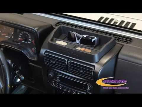 Daystar Products 1997-2006 Jeep Wrangler TJ Upper Dash Panel Installation KJ71031