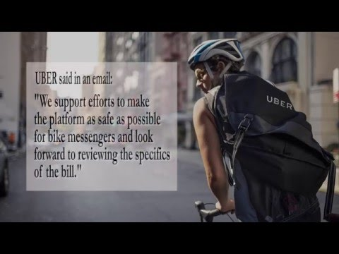 UberEats and Bike Messenger Safety