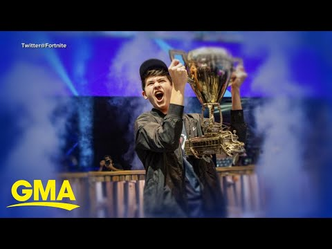 16-year-old wins $3M as 1st ever Fortnite world champ l GMA