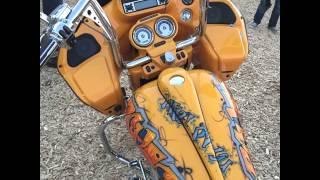 Harley-Davidson Custom Bagger (Short Clip)