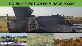 CRASH AU DECOLLAGE M2000N EN AFRIQUE