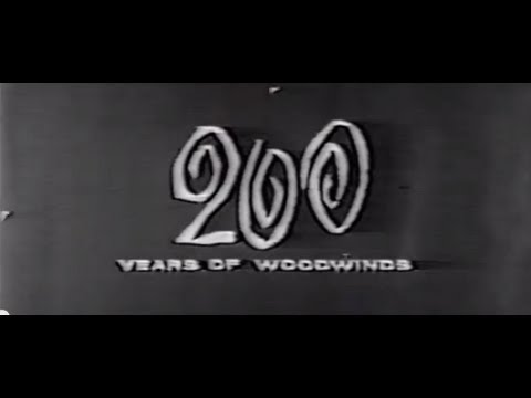 200 Years of woodwinds featuring the Philadelphia Woodwind Quintet playing Lefevre Quintet.