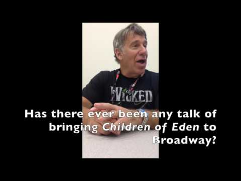Comic-Con Exclusive: composer Stephen Schwartz talks Wicked, THE MOVIE!