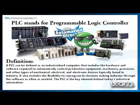 What is a PLC? Learn the Basics Featuring DirectLOGIC Programmable Logic Controllers