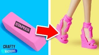 DIY Miniature School Supplies And Acessories For Your Barbie