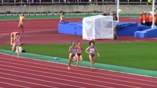 女子 4×400m 予選5組 順位 記録 選手 所属 地区 1 3:48.25 (0.225) Q 佐...