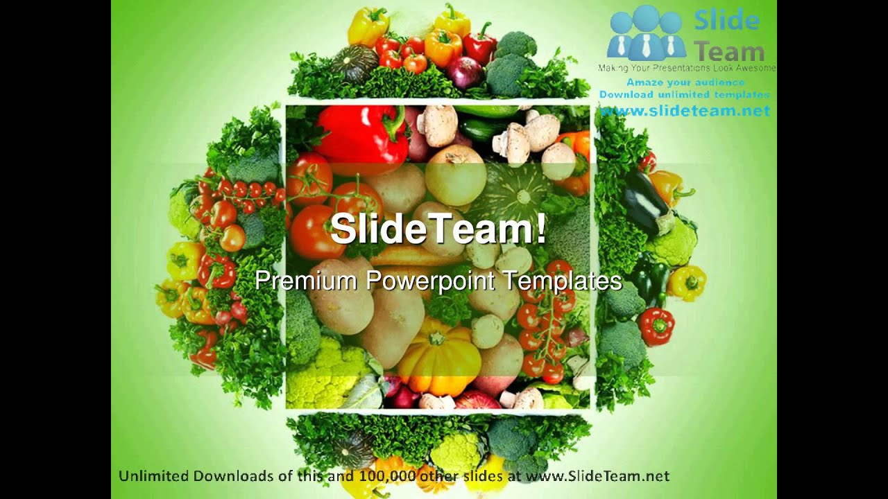 Fruits and vegetables health powerpoint templates themes and fruits and vegetables health powerpoint templates themes and backgrounds ppt designs youtube toneelgroepblik Choice Image