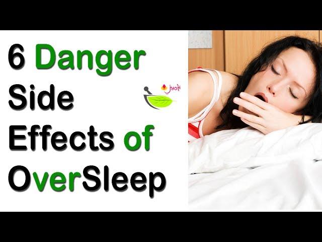 Over Sleep Is Harmful Too