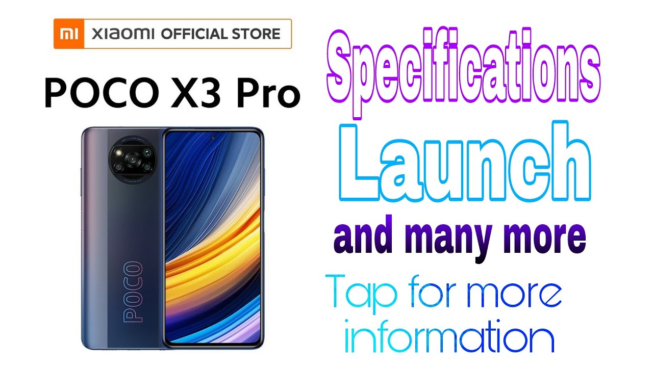 Download Poco X3 pro leaked specifications by Xiaomi retailer 😱