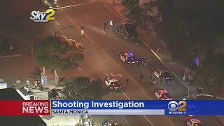Possible Suspects Located In Shooting Investigation In Santa Monica