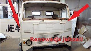 Renowacja Jelcza 317  #jelcz#renowacja#rajdkoguta#klasyk#polskiklasyk#polskacieżarówka#zabytek#