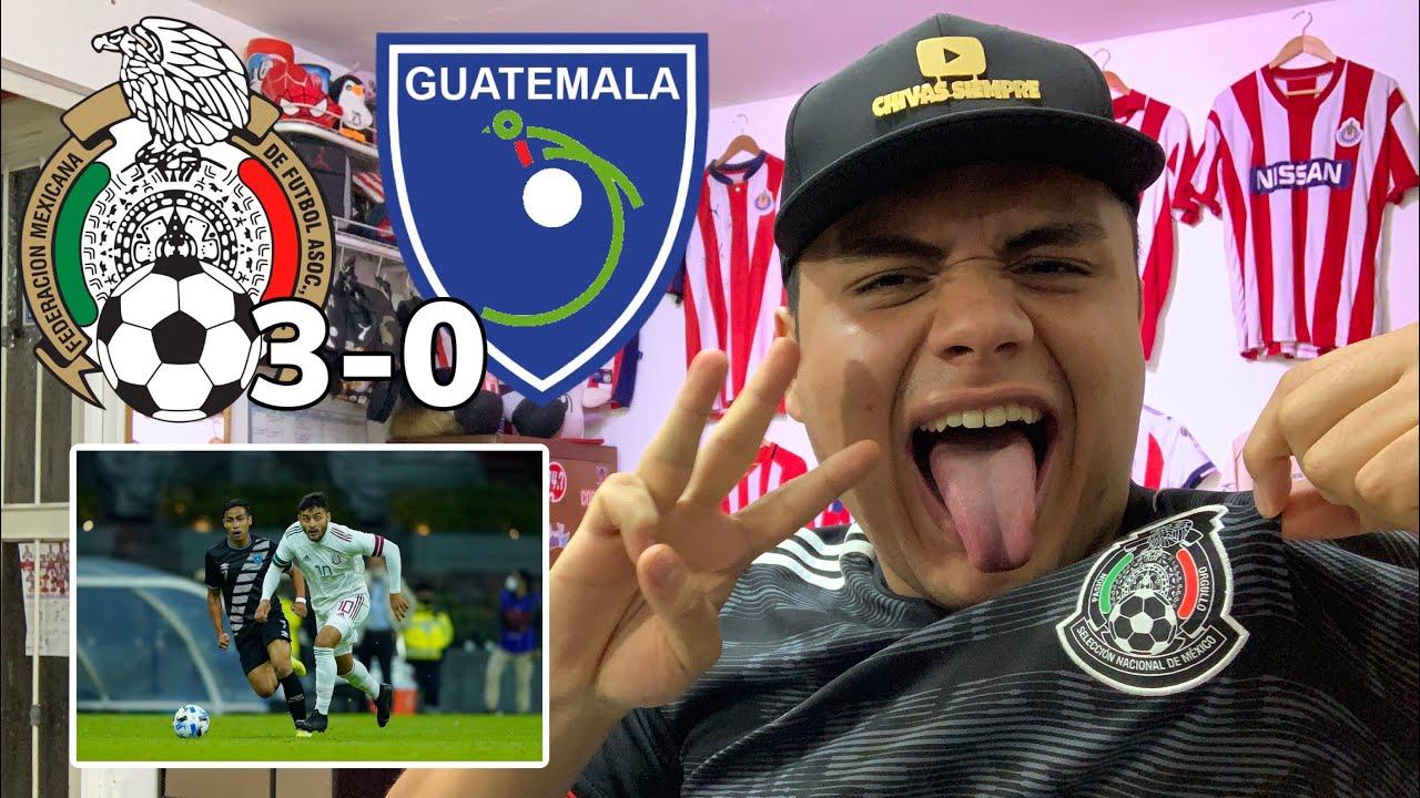 MÉXICO vs GUATEMALA 3-0 GOLEADA en REGRESO de la SELECCIÓN en el AZTECA *Córdova, Orbelin y Henry*