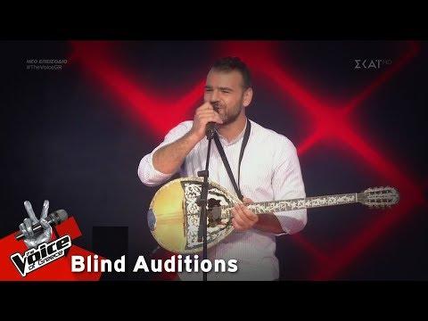 Ηρακλής Φάμελλος – Σουξεδιάρικο  | 8o Blind Audition | The Voice of Greece