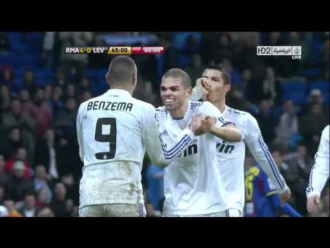 Real Madrid 8-0 Levante Copa del Rey-The best moment of Real Madrid in 2010; HD Full Highlights