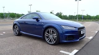 2016 Audi TT Coupe 2.0 TDI ultra 184 S line Start-Up and Full Vehicle Tour