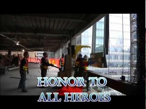 Jules and Gedeon NAUDET-MANHATTAN HEROES-The new WORLD TRADE CENTER by Thierry LEPRINCE