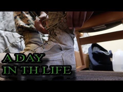 A Day In The Life Of A U S Marine