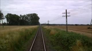 Szlak 402 Szczecin Gł - Kołobrzeg 100% trasy PKP IC TLK 88200 Szczecinianin SM42