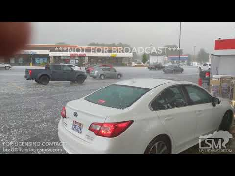 08-22-18 Farmington, Utah Hail Storm