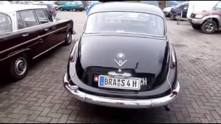 Oldtimer-Fan restauriert BMW 502