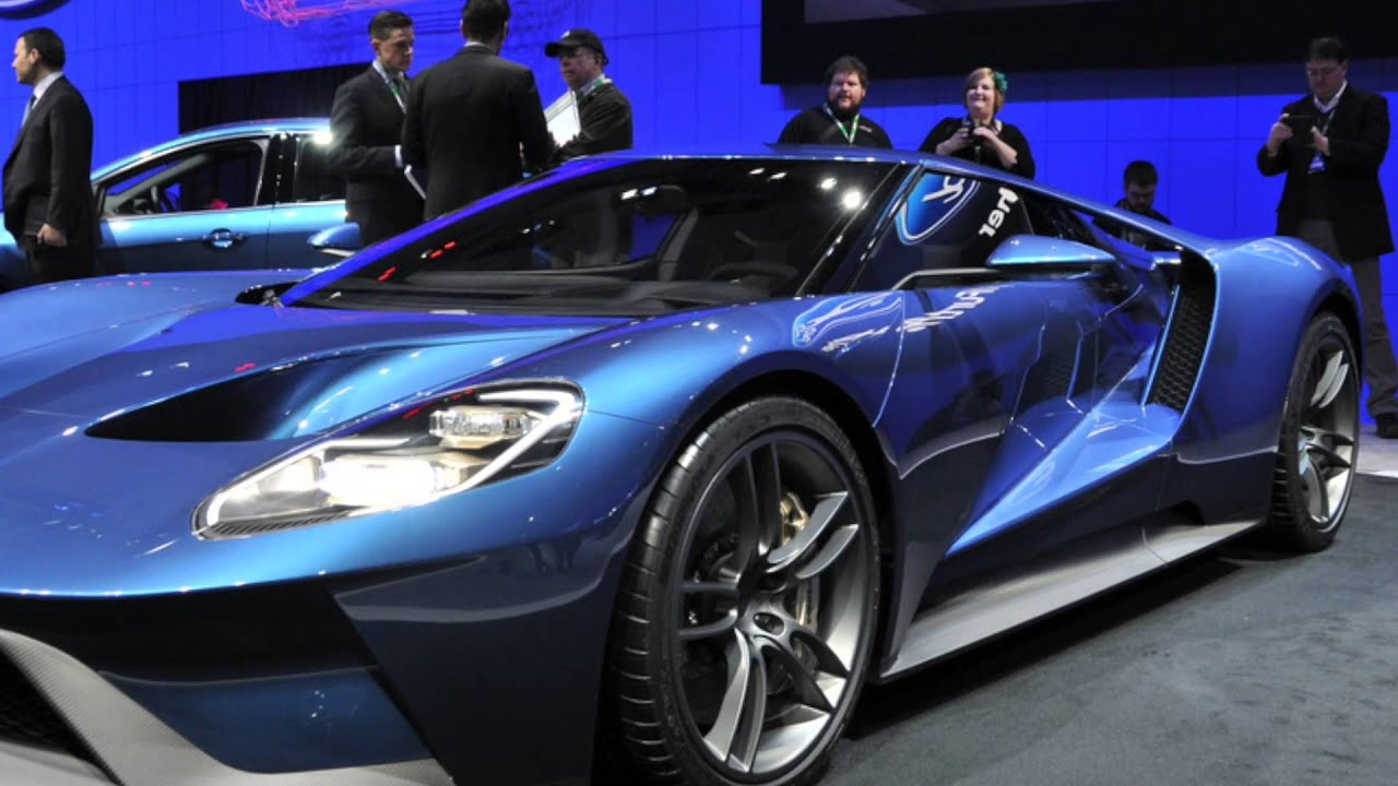 Ford Gt At  Canadian International Auto Show