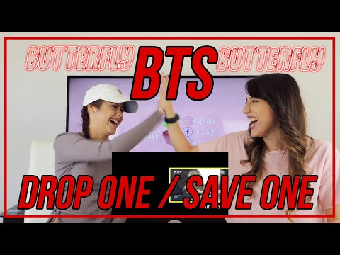 BTS song - Save one / Drop one Challenge