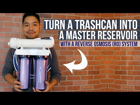 The Perfect Water Treatment Solution for Near ZERO PPM | How to setup a Reverse Osmosis System