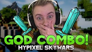 PLAYING SKYWARS WITH VIEWERS + GOD COMBO! ( Hypixel Skywars )